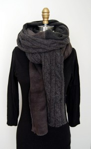 readymade wool scarf