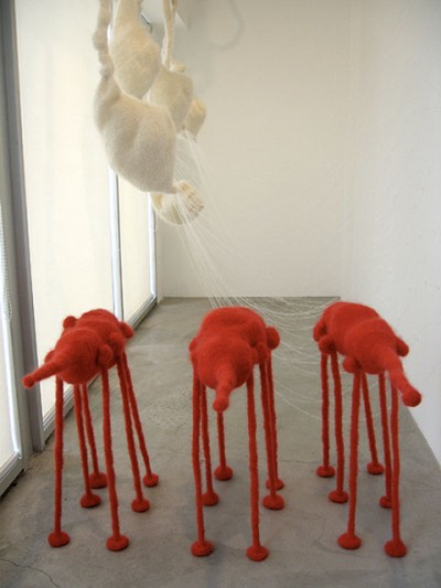 mohair creatures by alexandra newmark