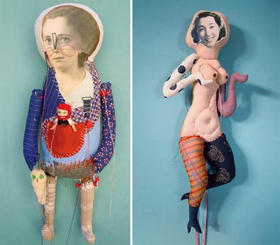 Visual-artist-Cecile-Perra-Handmade-puppets
