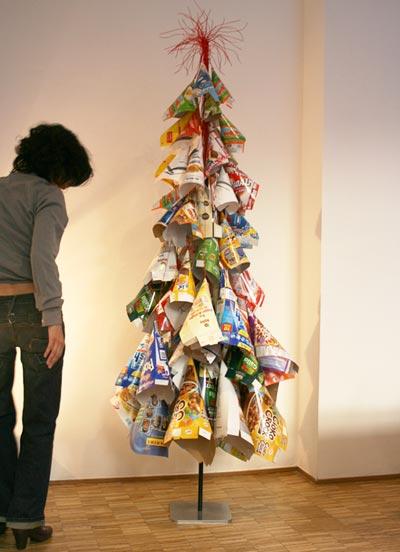 l'ennesima ideuccia per un albero di natale