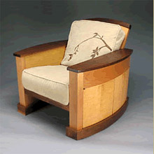 Indie-guest   :  canada fireplace chair garnish walnut