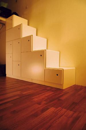 mobilier escalier