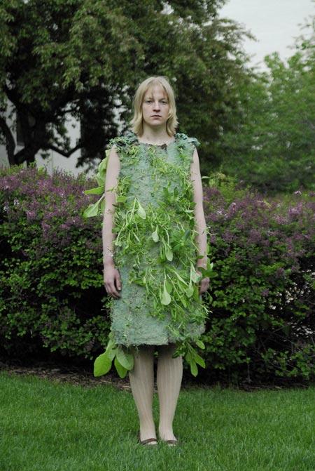 vesto vegetale. e interattivo.