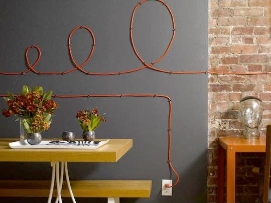 loops with electric cables
